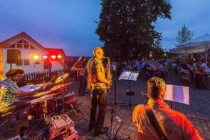 Jazz Colors Bamberg - Sommernachtsmusik im Biergarten (Foto: Rudolf Hein)