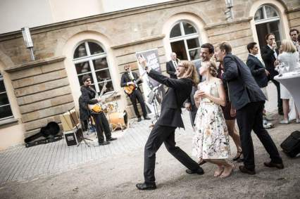 Jazz Colors Bamberg - Hochzeitsempfang