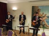 Jazz Colors Bamberg - Trio-Besetzung auf engstem Raum für besonders dezente Dinnermusik