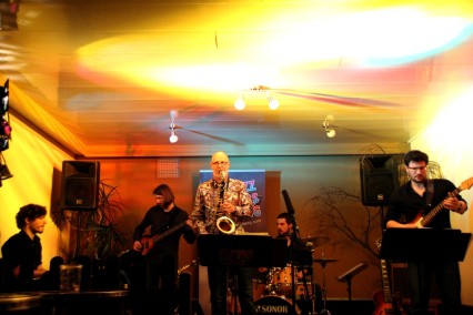 Jazz Colors Bamberg - funky Grooves mit der Quintett-Besetzung