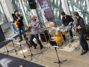Jazz Colors Bamberg - sorgen bei einer Firmenveranstaltung für beschwingte Atmosphäre