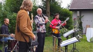 Jazz Colors Bamberg jazzen zur Geburtstagsfeier.