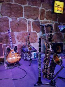 Jazz Colors Bamberg - Angerichtet für eine kleine, feine Privatveranstaltung im Jazzclub Bamberg