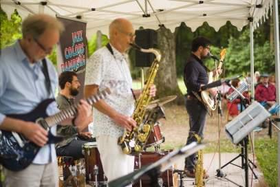 Jazz-Picknick im Schlosspark (Foto: Stephan Amm)